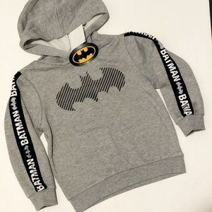 Brand new Batman Warm/Winter rubber print hoody